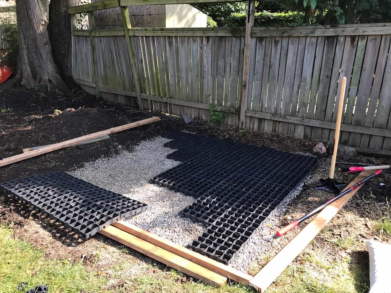 Permeable Hot Tub Pad Case Study