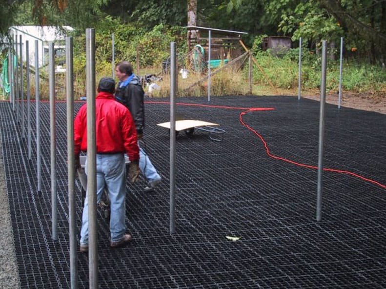 Permeable Dog Kennel Flooring Case, Outdoor Kennel Flooring Ideas