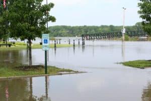 parking lot drainage problems flooded parking lot
