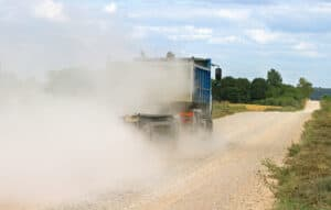 dust control for gravel roads and parking lots
